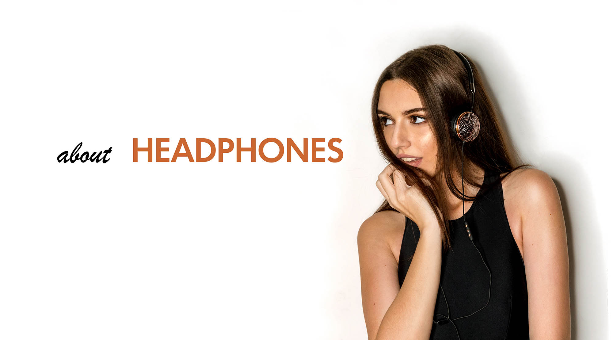 Headphones, as part of the outfit